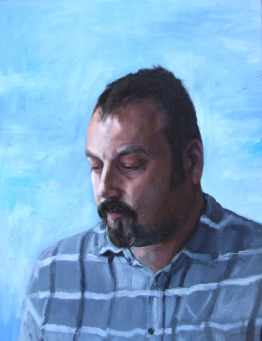 Steve Whitford, oil on canvas, Matt Harvey Art