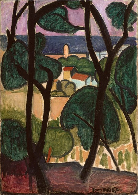 Henri Matisse, View of Collioure and the sea, 1907 - Met Museum