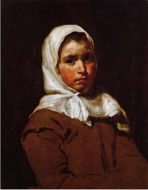 Velasquez peasant girl 50x64 copy