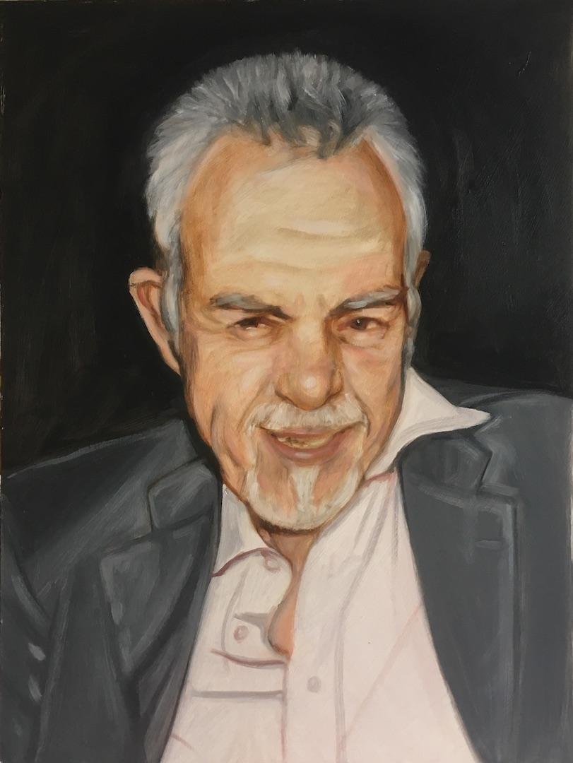 posthumous portrait by UK portrait painter and artist Matt Harvey