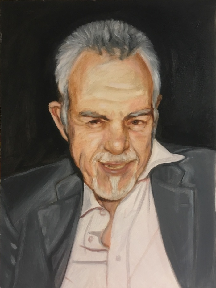 posthumous portrait by UK portrait painter and artist Matt Harvey