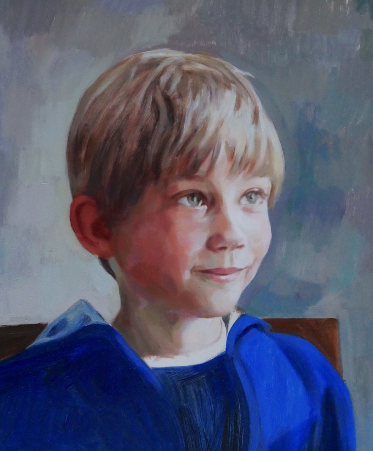 jacob, oil on board copy